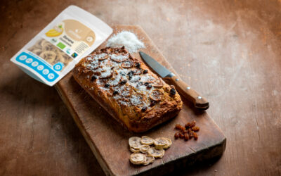 Pandolce with sultanas and Soft-DRY® dehydrated bananas: a unique cake!