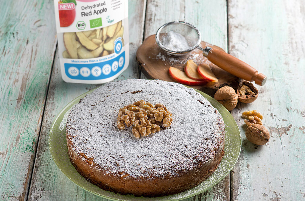 Pie with dehydrated Demeter® apples : a classic revisited, but always delicious!